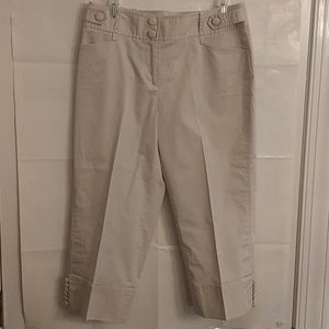 Ann Taylor Loft Women's Capri Pants Size 6